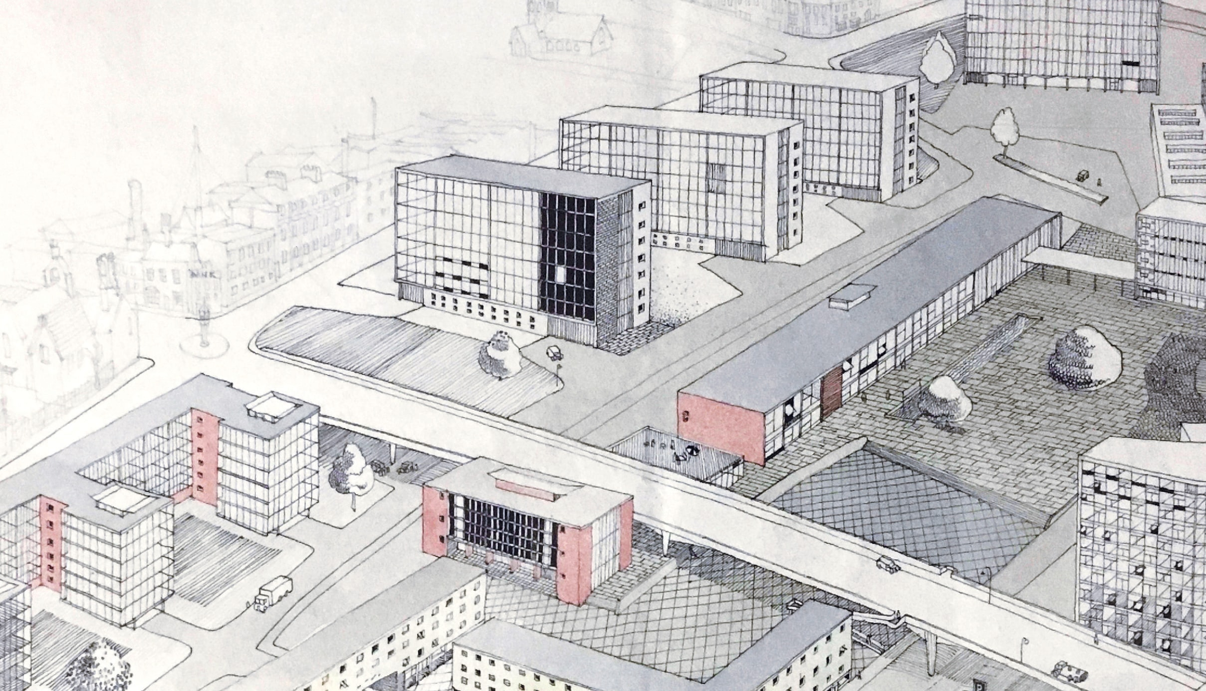DRAWINGS REVEALED: Unique and original architectural drawings