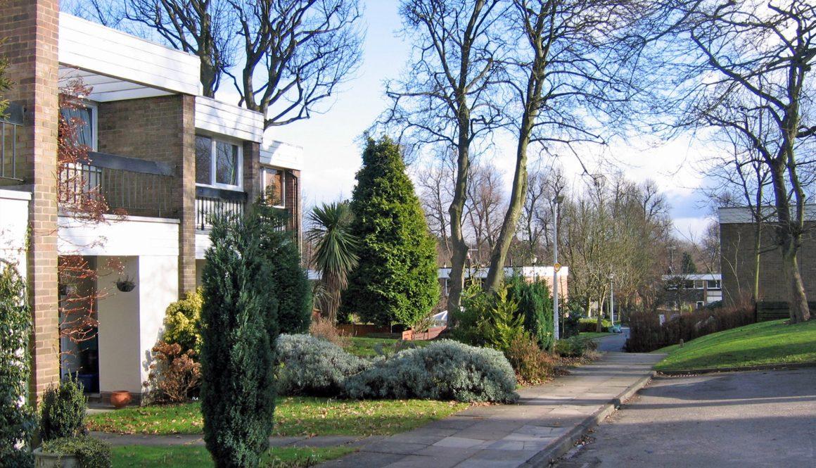 John Madin's housing schemes in Edgbaston