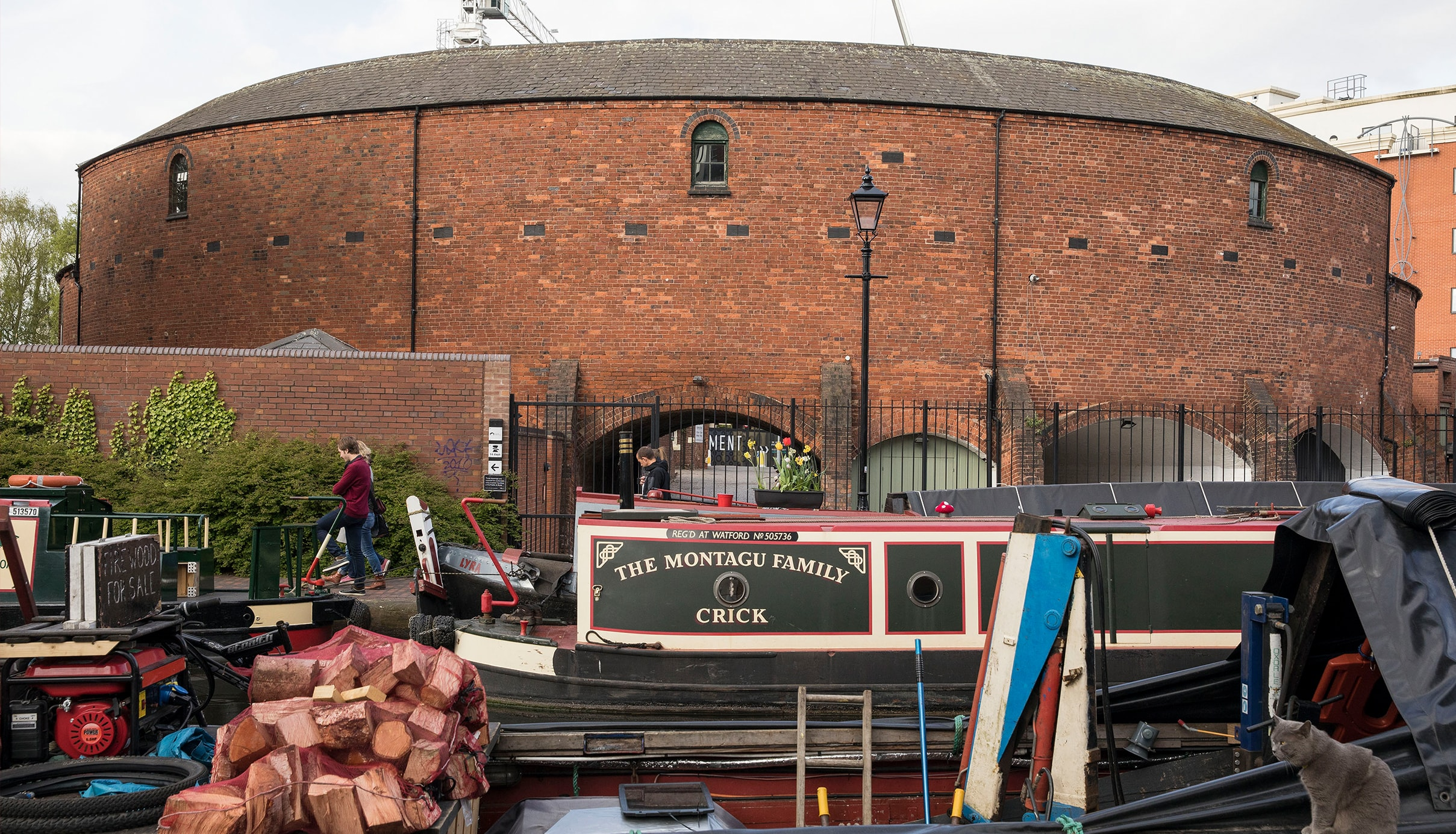 Urban Safari at Roundhouse Birmingham / Historic Narrowboats