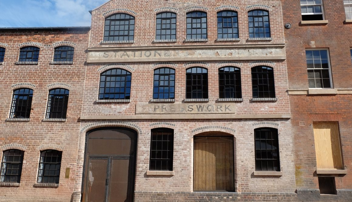 Ghost signs walking tour of the Birmingham's historic Jewellery & Gun Quarters