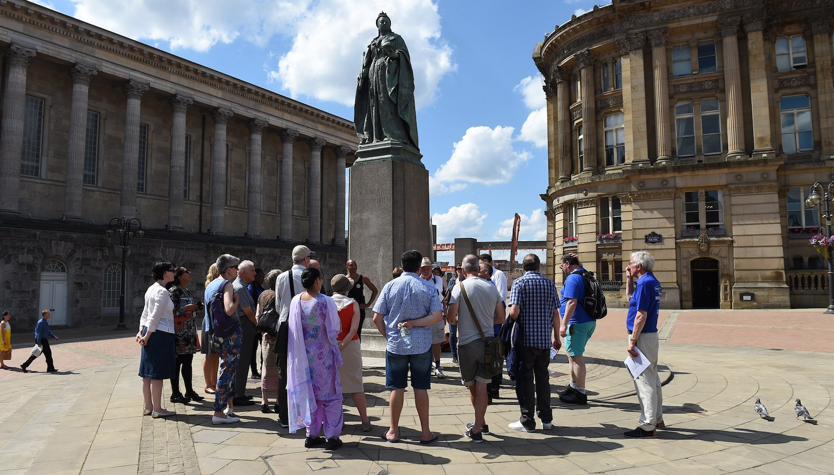 Discovering Birmingham Walking Tour